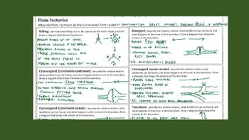 Earth Science Review Sheet: Earth's Geology
