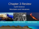 Earth Science Review- plate boundaries, mountains and volc