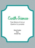 Earth Science: Rock Cycle & Earth's Layers