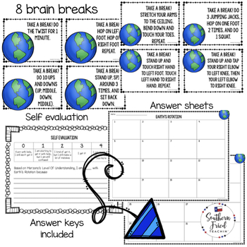 Earth Science Scoot Games/Task Cards BUNDLE