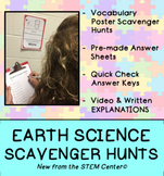 Earth Science Scavenger Hunts Bundle