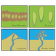 Earth Science Clip Art - Sediment Deposition