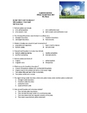 Earth Science: Semester 1 Final Exam
