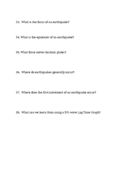Earth Science: Semester 1 Final Exam Study Guide