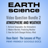 Earth Science Bundle 2: Atmosphere and Weather