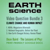 Earth Science Series 3: Climate Change and Human Impact