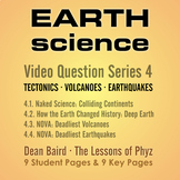 Earth Science Series 4: Tectonics, Volcanoes, and Earthquakes