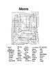 Moons of the Solar System Word Search