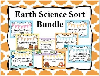 Earth Science Sort Bundle