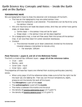 Earth Science Study Guide - Geology, Meteorology, Astronomy