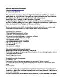 Earth Science Summer School Syllabus / outline spanish version