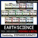 Earth Science Task Card Bundle