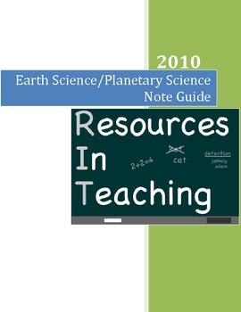 Earth Science Teaching Guide for Teacher Exams