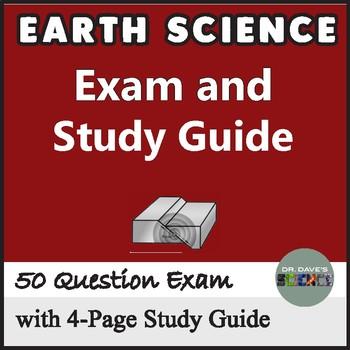 Earth Science Test Prep Bundle
