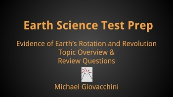 Evidence of Earth's Rotation & Revolution: Earth Science Test Prep