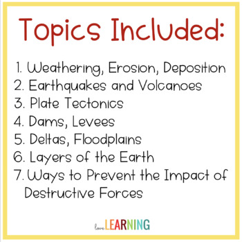Earth Science: Test and Quizzes