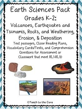 Earth Science Text Passages for Close Reading K-2