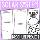 THE SOLAR SYSTEM: Earth Science Research Brochure Template