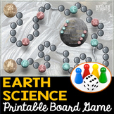 Earth Science Themed Board Game - Editable Cards
