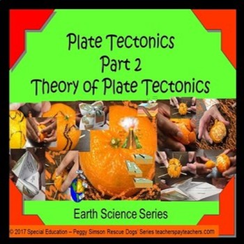 Earth Science Theory of Plate Tectonics Quiz Special Educa