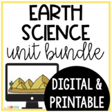 Earth Science Unit (with PowerPoint Lessons, Interactive N