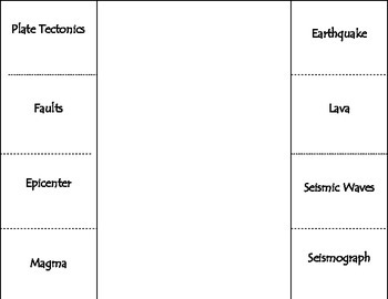Earth Science Vocabulary