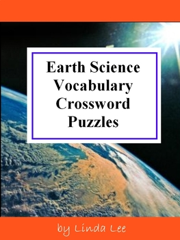 Earth Science Vocabulary Crossword Puzzles By Linda Lee Tpt