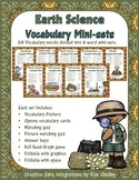 Earth Science Vocabulary Mini-Bundles 9-Pack