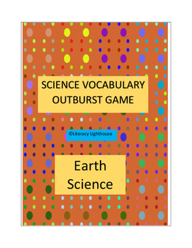 STAAR SCIENCE REVIEW: Earth Science Vocabulary-OUTBURST GAME