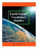 Earth Science Vocabulary Quizzes