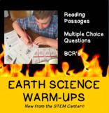 Earth Science Warm Ups