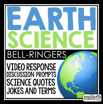 Earth Science Warm Ups and Bell Ringers - Full Year Resource