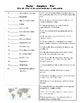 Earth Science - Weather - Atmosphere and Wind - Crossword Puzzle