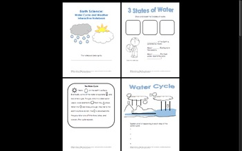 Earth Science Weather Interactive Notebook