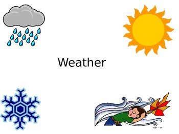 Earth Science: Weather Powerpoint