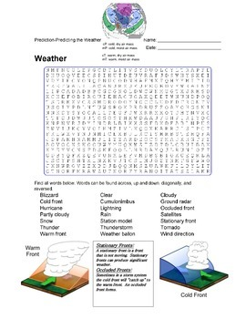 Earth Science - Weather - Prediction- Predicting the Weath