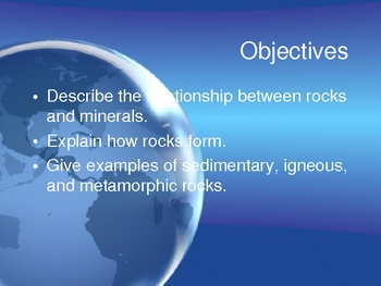 Earth Science -Weathering, Erosion, Deposition, Rocks, and Minerals