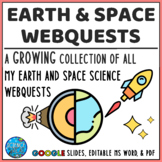 Earth Science and Astronomy Webquest Bundle - Growing Bundle