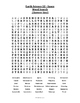 Earth Science Word Search  - Space