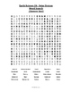Earth Science Word Search  - Solar System