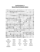 Earth Science Word Search - Minerals