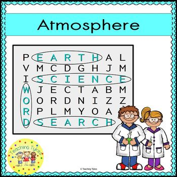 Atmosphere Word Search