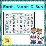 Earth Moon Sun Word Search