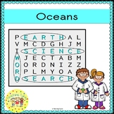 Oceans Word Search