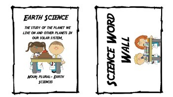 Earth Science Word Wall Words