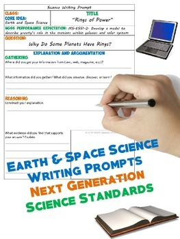 NGSS Writing: Earth & Space Science