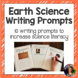 Earth Science Writing Prompts