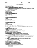 Earth Science final review sheet- geology, meteorology, hy