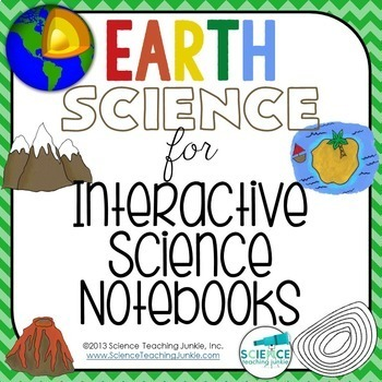 Earth Science for Interactive Science Notebooks