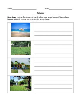 Earth Science - natural resources and the 3R's